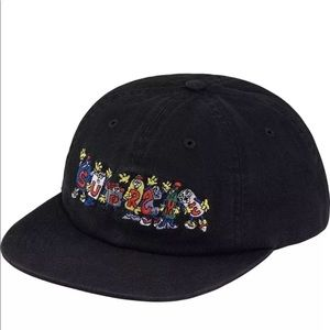 Supreme Friends 6 Panel Cap.Black.New. SS18. REAL